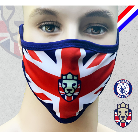 Rangers on Tour Facemask